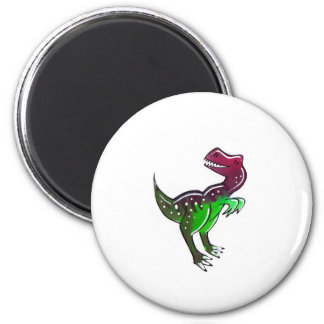 Allosaurus 2 Inch Round Magnet