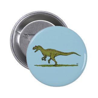 Allosaurus Button
