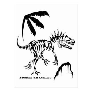 Allosaurus by Fossil Shack Postcard