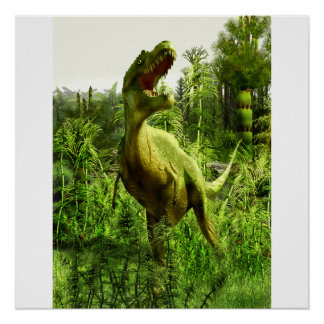 Allosaurus de New México Póster