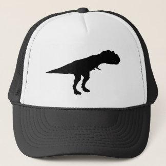 Allosaurus Dino Dinosaur Silhouette Trucker Hat