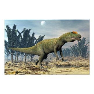 Allosaurus dinosaur - 3D render Stationery
