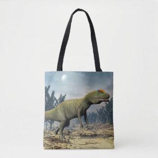 Allosaurus dinosaur - 3D render Tote Bag