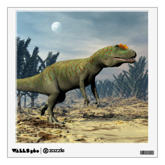 Allosaurus dinosaur - 3D render Wall Decal