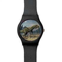 Allosaurus dinosaur - 3D render Wrist Watch