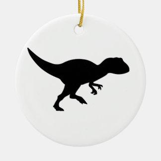 Allosaurus Dinosaur Ceramic Ornament