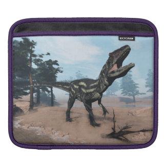 Allosaurus dinosaur roaring - 3D render iPad Sleeve