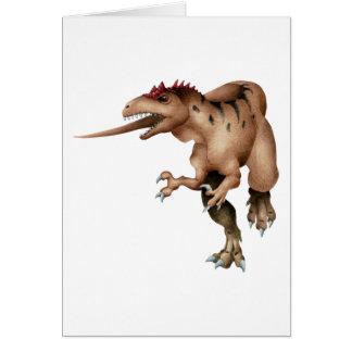 Allosaurus Felicitación