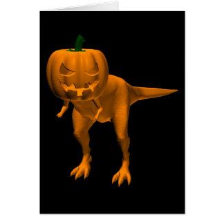 Allosaurus halloweenis card
