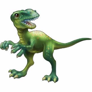 Allosaurus Standing Photo Sculpture