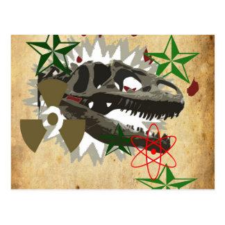 Allosaurus Postcard
