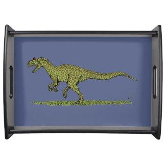Allosaurus Serving Tray