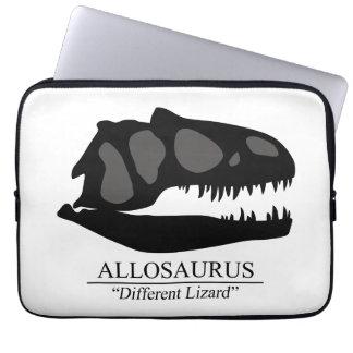 Allosaurus Skull Computer Sleeve