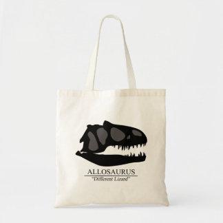 Allosaurus Skull Tote Bag