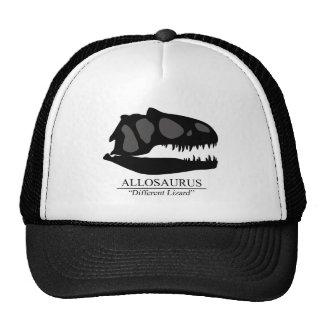 Allosaurus Skull Trucker Hat