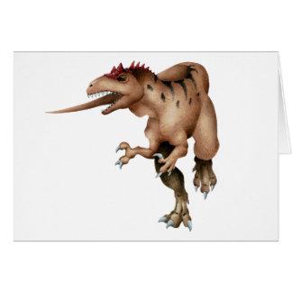 Allosaurus Tarjetón
