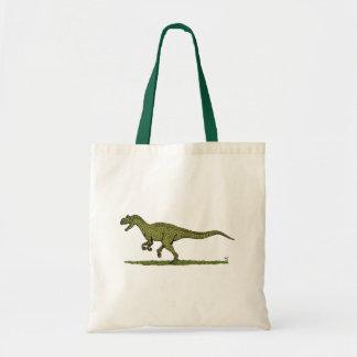 Allosaurus Tote Bag