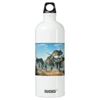 Allosauruses Aluminum Water Bottle