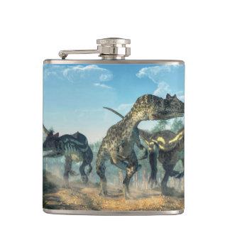 Allosauruses Flask