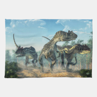 Allosauruses Towel