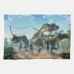 Allosauruses Toalla