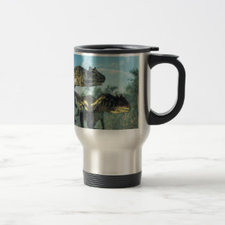 Allosauruses Travel Mug