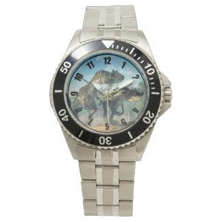 Allosauruses Wrist Watch