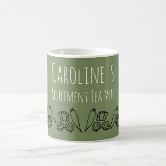 Allotment Tea Mug Personalized