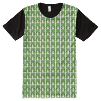 Allover Custom Print Men's Tee Shirt by creativeconceptss at Zazzle