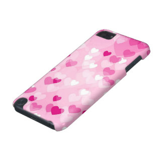 Allover hearts,pink iPod touch 5G cover