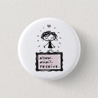 allow. avail. receive. pinback button
