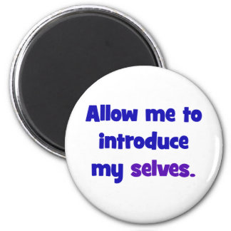 Allow me to introduce my selves magnet