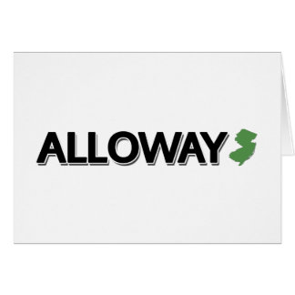 Alloway, New Jersey Card
