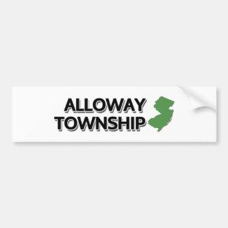 Alloway Township, New Jersey Bumper Sticker