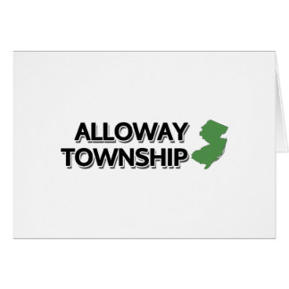 Alloway Township, New Jersey Card