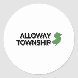 Alloway Township, New Jersey Classic Round Sticker