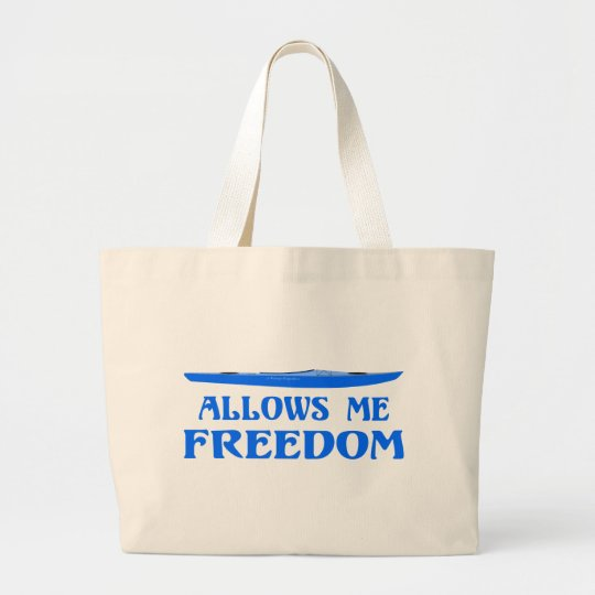 Allows Me Freedom Large Tote Bag