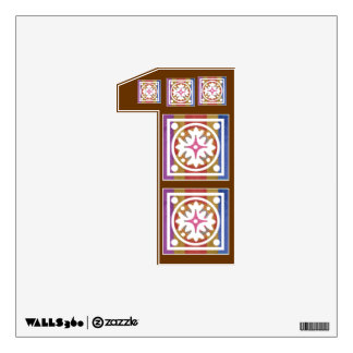 ALLPHABET NUMBER WALL DECOR