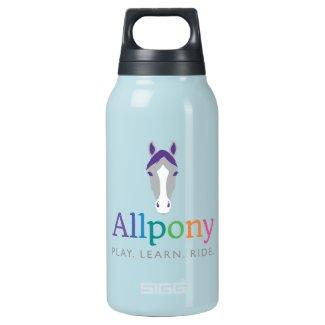 Allpony Logo Gear Insulated Water Bottle