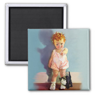 All's Well 2 Inch Square Magnet
