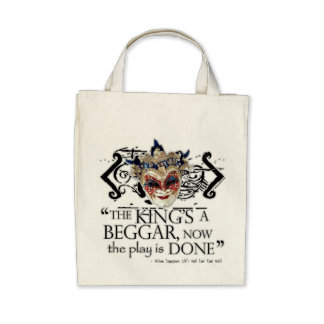 Alls Well That Ends Well Quote Canvas Bag
