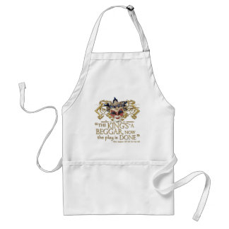 All's Well That Ends Well Quote (Gold Version) Adult Apron