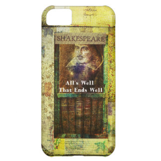 All's Well That Ends Well - Shakespeare Quote iPhone 5C Case