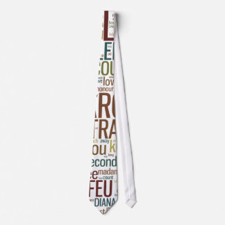 All's Well That Ends Well Word Mosaic Tie