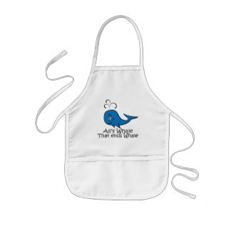 All's Whale that Ends Whale - Funny apron