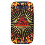 Allsehendes eye of God, pyramid, planning Galaxy S3 Covers