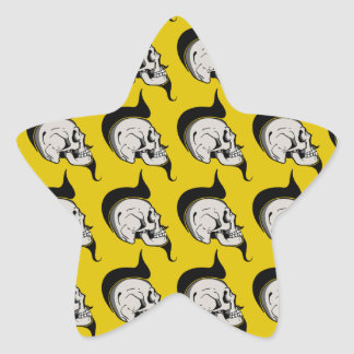 ALLSKULL STAR STICKER