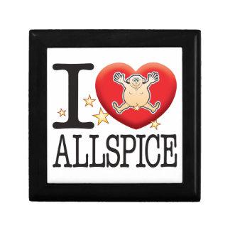 Allspice Love Man Keepsake Box