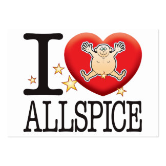 Allspice Love Man Large Business Card