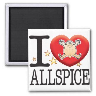 Allspice Love Man Magnet